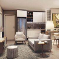 Viva Benx Santana - Perspectiva 34m² - 1 dormitório