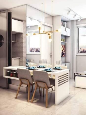 Viva Benx Santana - Perspectiva 34m² - 2 dormitórios