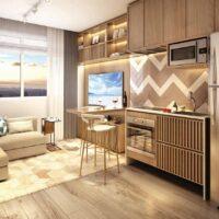 Viva Benx Tatuapé - Perspectiva 34m² - 1 dormitório