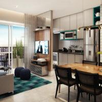 Viva Benx Vila Mascote - Perspectiva 55m² - 3 dormitórios