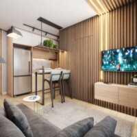 Fit Casa José Bonifácio - Perspectiva 36m² - 2 Dormitório