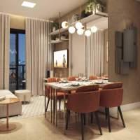Viva Benx Estilo Pompeia - Perspectiva Living 40m²