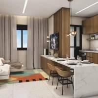 Viva Benx Estilo Pompeia - Perspectiva Living Ampliado 40m²