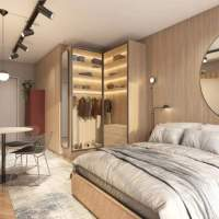 Do It Vila Olímpia - Perspectiva living studio 25m²
